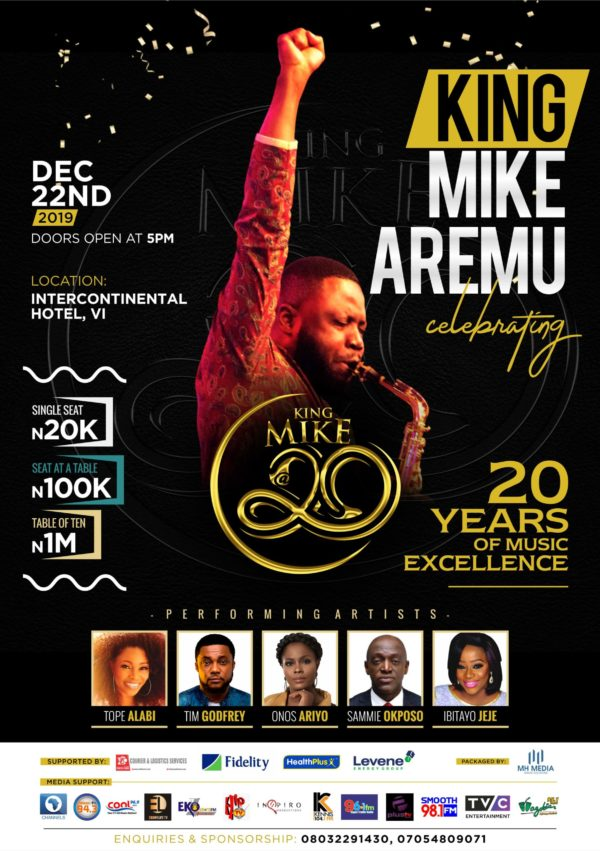 MIKE AREMU concert