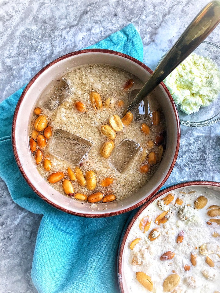 soaked garri might increase