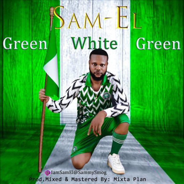 Green White Green By Sam EL